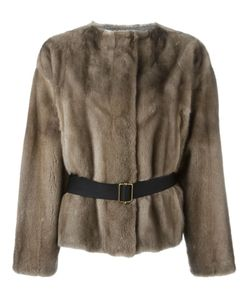 INÈS & MARÉCHAL | Меховая Куртка С Поясом
