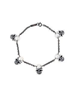Maison Recuerdo | Skull Charm Bracelet