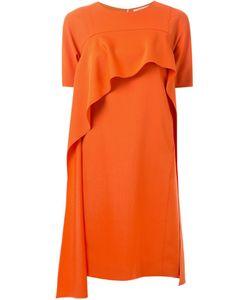 TARO HORIUCHI | Shortsleeved Ruffled Dress