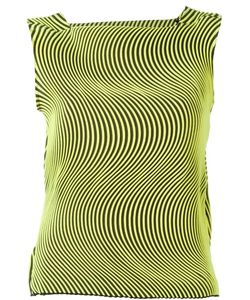 Issey Miyake | Топ С Волнообразным Гофрированным Дизайном