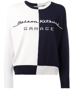 Maison Kitsune | Maison Kitsuné Bicolour Jumper Medium Cotton/Polyester