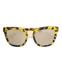 Dolce & Gabbana   Солнцезащитные Очки В Овальной Оправе