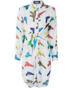Jeremy Scott | Платье-Рубашка С Принтом Водяных Пистолетов