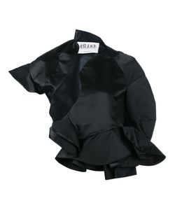 Awake | Asymmetric Ruffle Jacket