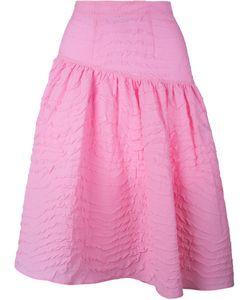 Awake | Asymmetric Jacquard Skirt