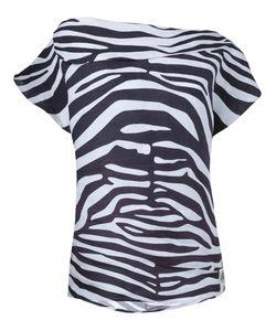 Awake | Off-Shoulder Zebra Print Top