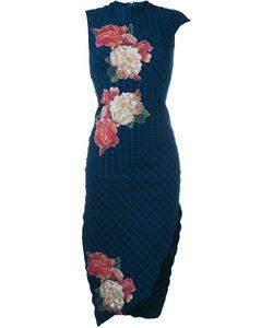 Awake | Patterned Asymmetric Sleeveless Dress