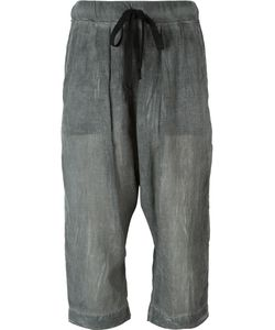 LOST AND FOUND ROOMS | Drop-Crotch Cropped Trousers