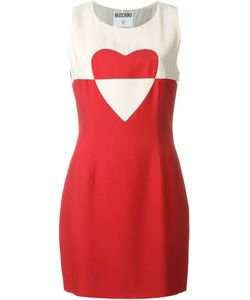 MOSCHINO VINTAGE | Платье Без Рукавов С Принтом Сердца