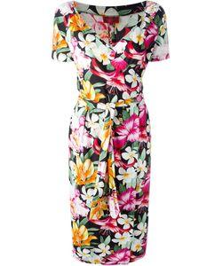 Kenzo | Приталенное Платье С Запахом