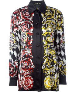 ESCADA VINTAGE | Рубашка С Комбинированным Принтом