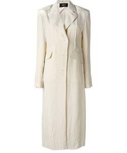 Yang Li | Длинное Пальто С Мятым Эффектом