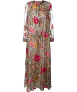 Etro | Платье Макси С Принтом Пейсли