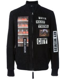 Blood Brother | Куртка-Бомбер С Нашивками