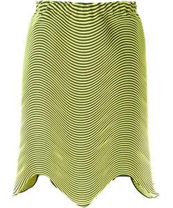 Issey Miyake | Асимметричная Плиссированная Юбка