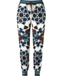 Versace Collection | Geometric Print Track Pants