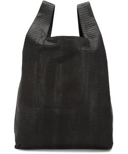 Hayward | Snakeskin Shopper Tote