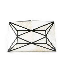SERPUI | Geometric Panelled Clutch