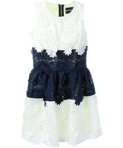 Marco Bologna | Пышное Платье С Цветочной Вышивкой