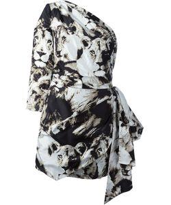 Roberto Cavalli | Платье С Леопардовым Принтом