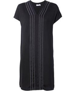 Vince | Платье С Открытой Строчкой