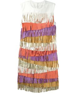 Drome | Платье С Бахромой