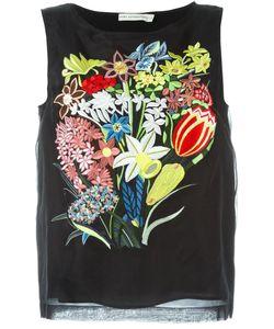 Mary Katrantzou | Топ С Цветочной Вышивкой