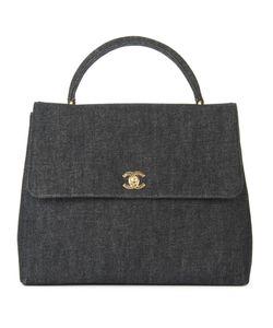 Chanel Vintage | Джинсовая Сумка-Тоут