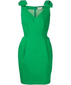 Lanvin | Платье С Бантами На Плечах