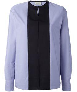 Lanvin | Контрастная Рубашка Без Рукавов