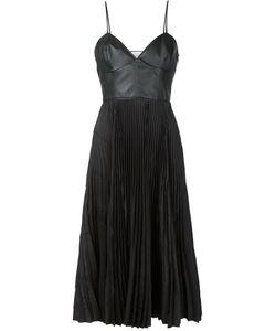 Cedric Charlier | Плиссированное Платье На Бретельках
