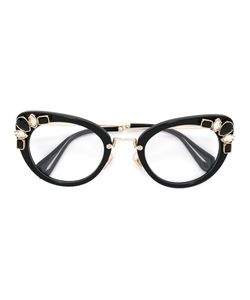 Miu Miu Eyewear | Cat Eye Glasses Acetate/Metal