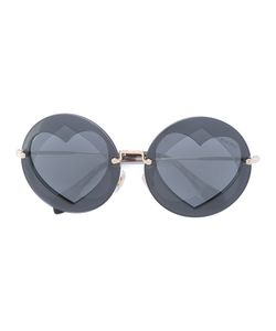 Miu Miu Eyewear | Round Shaped Sunglasses Acetate/Metal