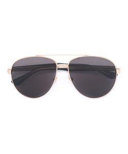 Gucci Eyewear | Engraved Accent Aviator Sunglasses Size