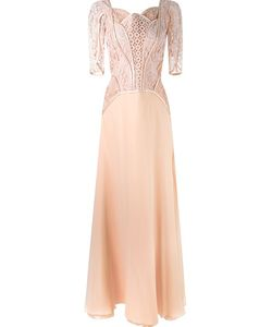 MARTHA MEDEIROS | Lace Top Gown