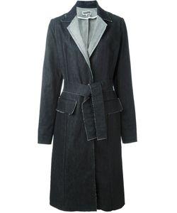 ETIENNE DEROEUX   Джинсовое Пальто