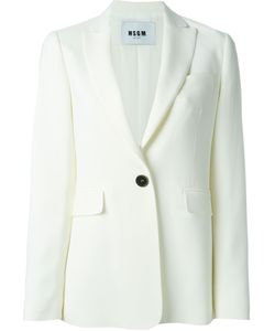 MSGM | One Button Blazer