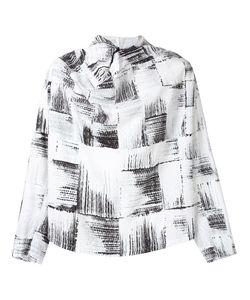 N. Hoolywood | Куртка С Капюшоном И Абстрактным Принтом