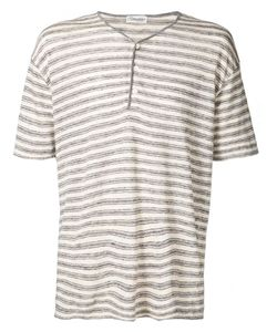 CAMOSHITA BY UNITED ARROWS | Cotton Linen Stripe Henley