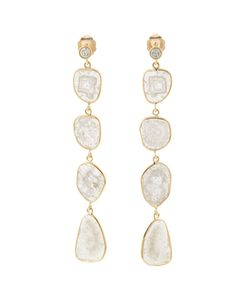 KRISTIN HANSON | Four Drop Slice Diamond Earrings
