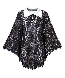 MARTHA MEDEIROS | Lace Overlay Dress