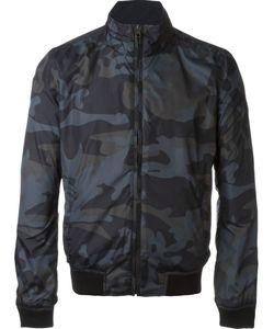 Woolrich | Куртка-Бомбер С Камуфляжным Принтом