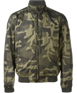 Woolrich | Camouflage Reversible Bomber Jacket