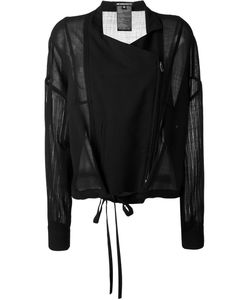 Ann Demeulemeester | Куртка С Прозрачными Рукавами