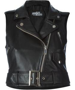 Jeremy Scott | Байкерская Куртка Без Рукавов