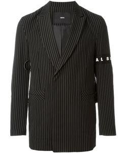 D-GNAK   Striped Blazer
