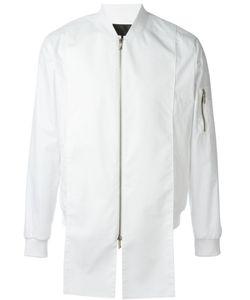 D-GNAK   Куртка-Бомбер С Панельным Дизайном
