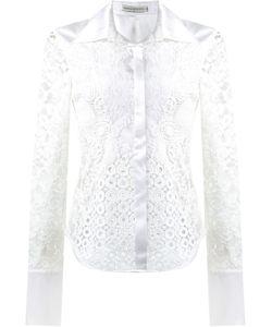 MARTHA MEDEIROS | Lace Patchwork Shirt