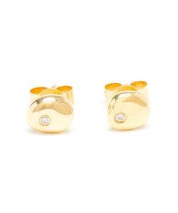 NATASHA COLLIS | 18kt And Diamond Stud Earrings