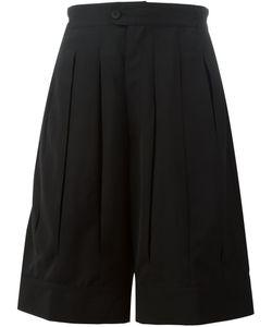 D. Gnak | Wide Leg Pleated Shorts